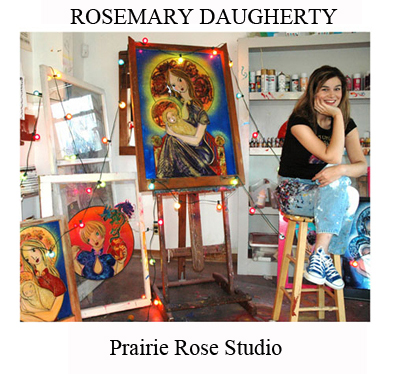Rosemary in Prairie Rose Studio